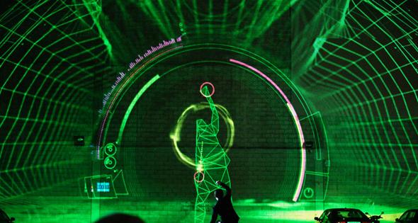 Kinect-Dubstep