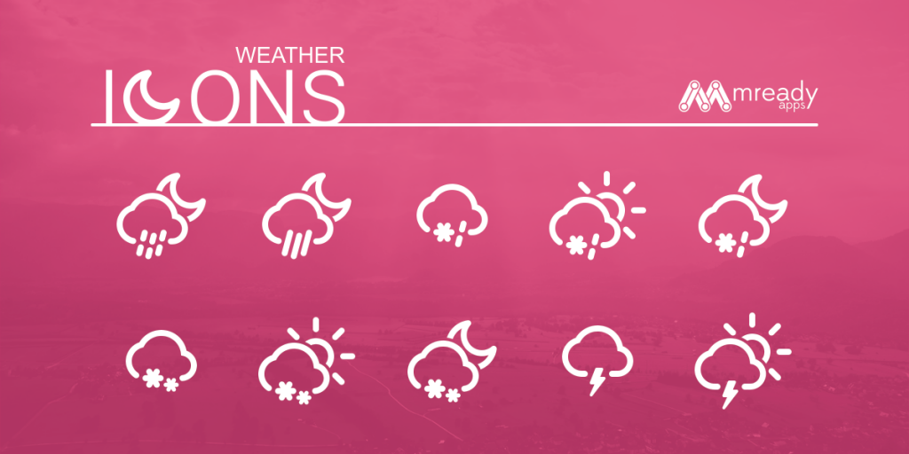 Weather Icons Free Vectorial Icon Set