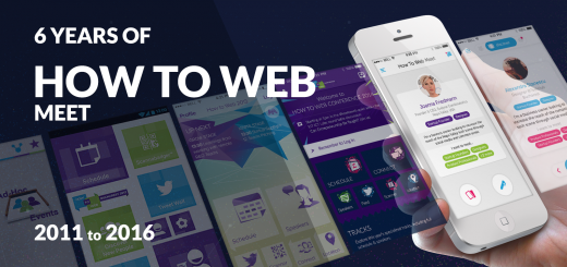 how to web meet evolution of a conference app