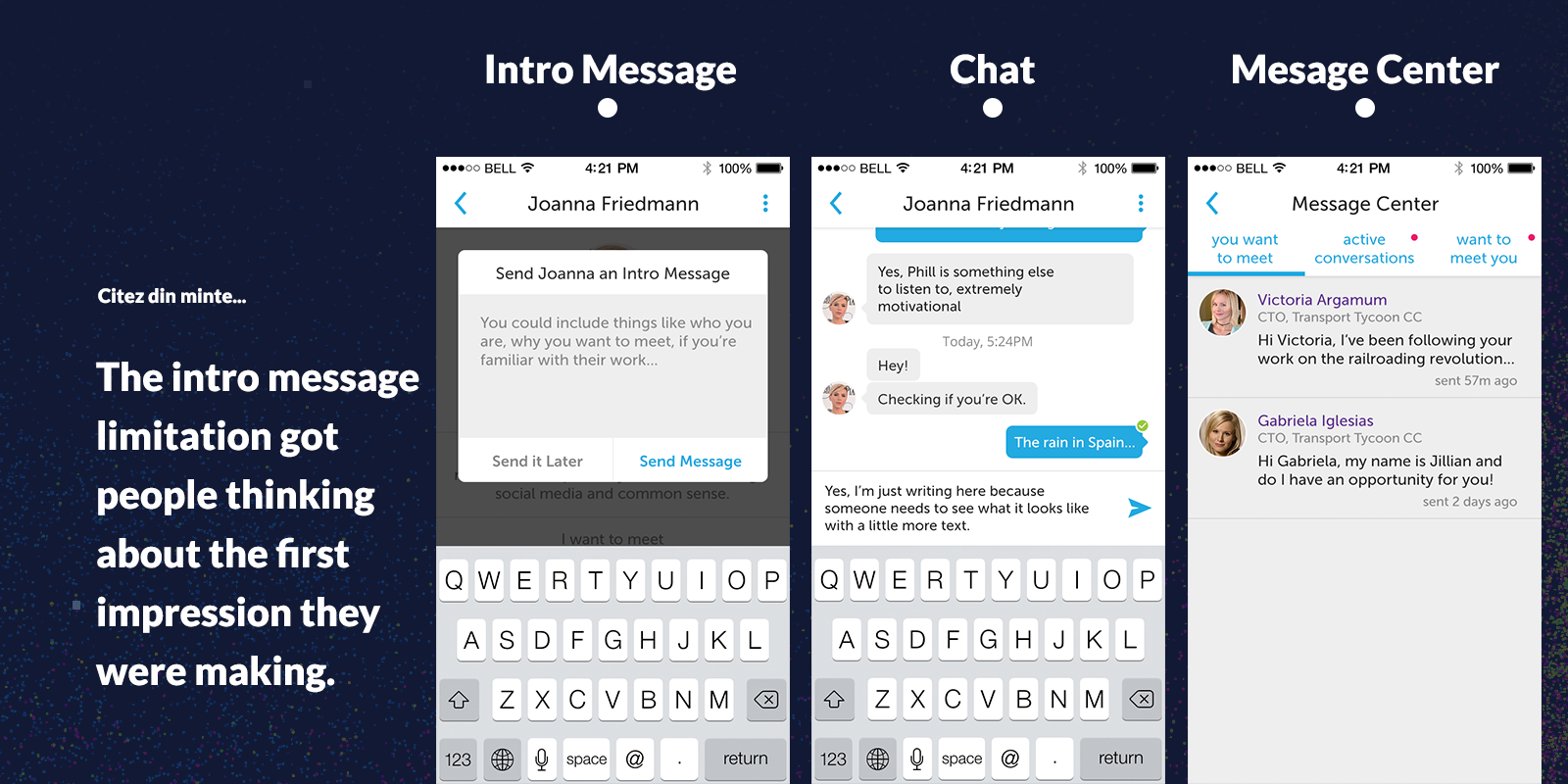 how to web 2016 conference app chat intro essage