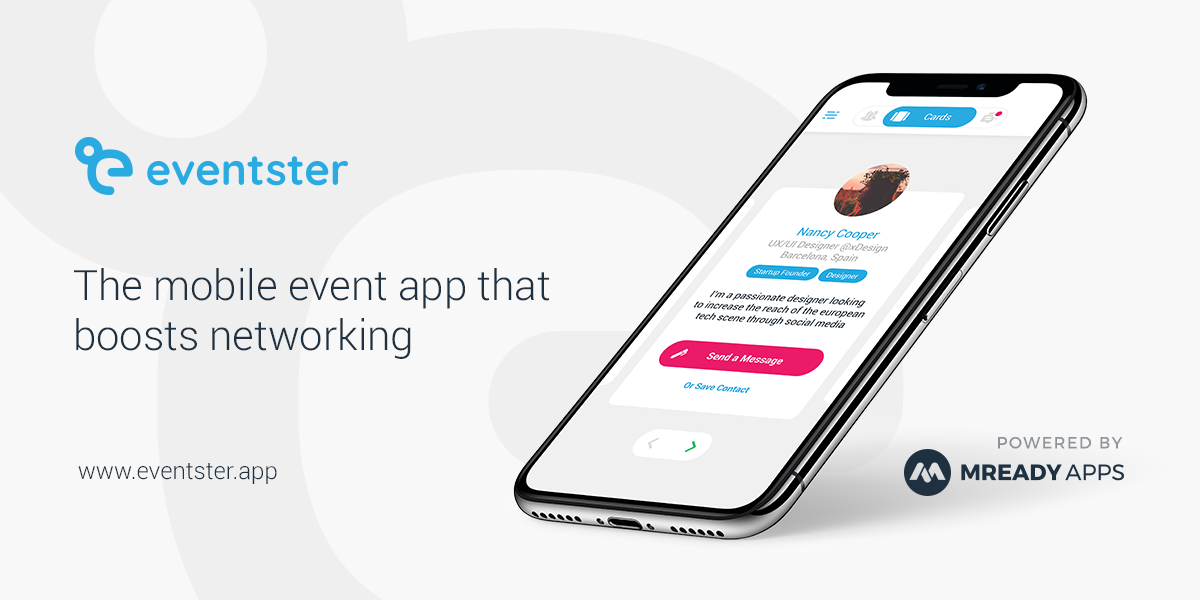 Eventster - The Mobile Event App that Boosts Networking